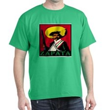 zapata Black T-Shirt