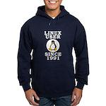 Linux user since 1991 - Hoodie (dark)