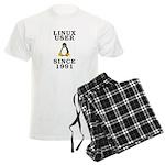 Linux user since 1991 - Men's Light Pajamas