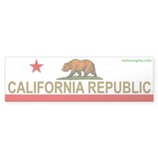 Bumper Sticker, Bear Flag
