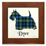 Terrier - Dyce Framed Tile