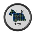 Terrier - Dyce Large Wall Clock