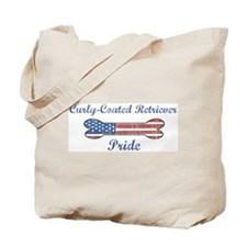 Curly-Coated Retriever Pride Tote Bag