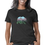 Alaska State Flag Organic Toddler T-Shirt (dark)