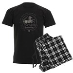 Celtic Horse Coin Men's Dark Pajamas