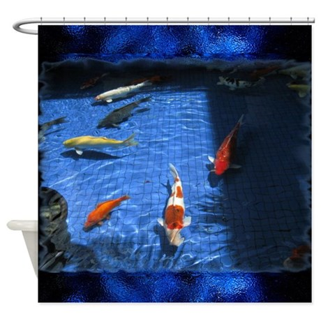 Tropical fish shower curtain by outofdomsmind for Tropical fish shower curtain