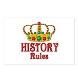 History Rules Postcards (Package of 8)