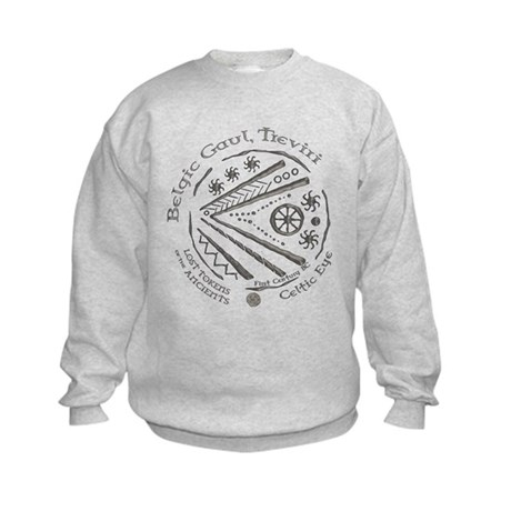 Celtic Eye Coin Kids Sweatshirt