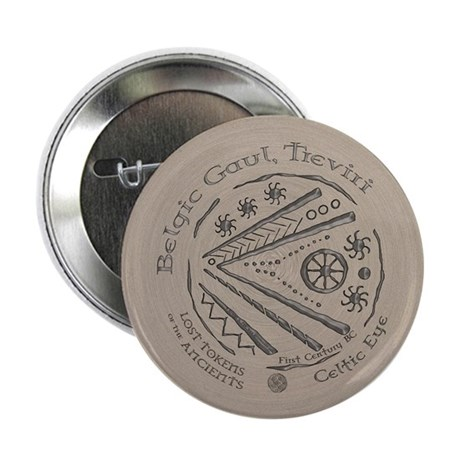 "Celtic Eye Coin 2.25"" Button (10 pack)"