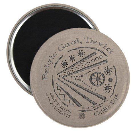 "Celtic Eye Coin 2.25"" Magnet (10 pack)"