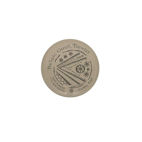 Celtic Eye Coin Mini Button (100 pack)