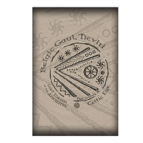 Celtic Eye Coin Postcards (Package of 8)