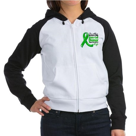 Alive BC Stem Cell Donor Women's Raglan Hoodie
