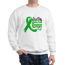 Alive BC Stem Cell Donor Sweatshirt