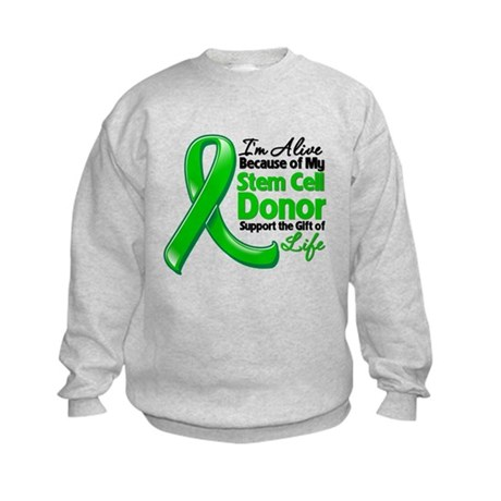 Alive BC Stem Cell Donor Kids Sweatshirt