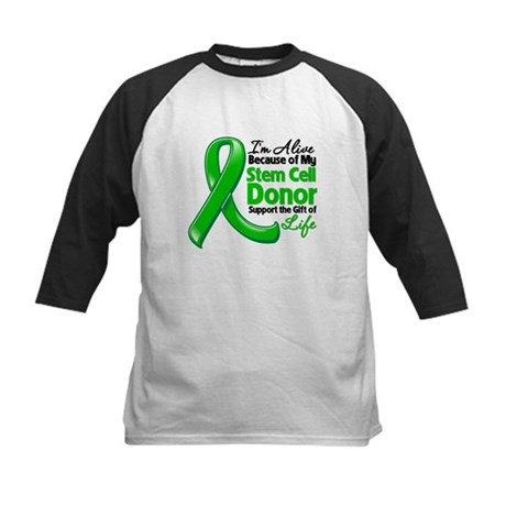 Alive BC Stem Cell Donor Kids Baseball Jersey