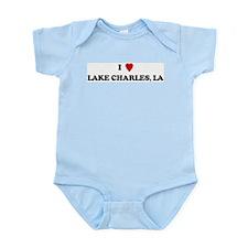 I Love Lake Charles Infant Creeper