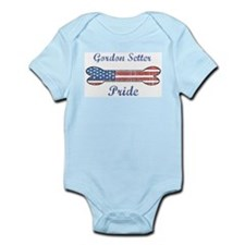 Gordon Setter Pride Infant Creeper