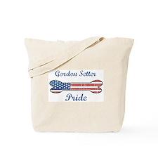 Gordon Setter Pride Tote Bag