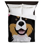I Love My Bernese Queen Duvet