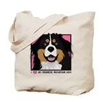 I Love My Bernese Tote Bag