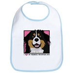 I Love My Bernese Bib