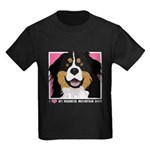 I Love My Bernese Kids Dark T-Shirt