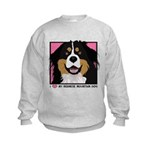 I Love My Bernese Kids Sweatshirt
