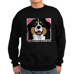 I Love My Bernese Sweatshirt (dark)