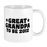Great Grandpa To Be 2012 Mug