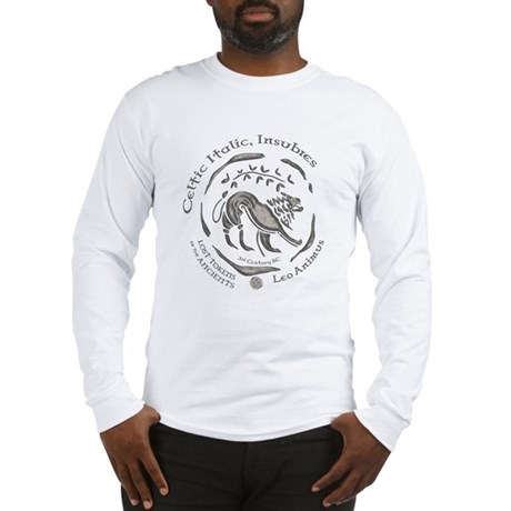 Celtic Lion Coin Long Sleeve T-Shirt