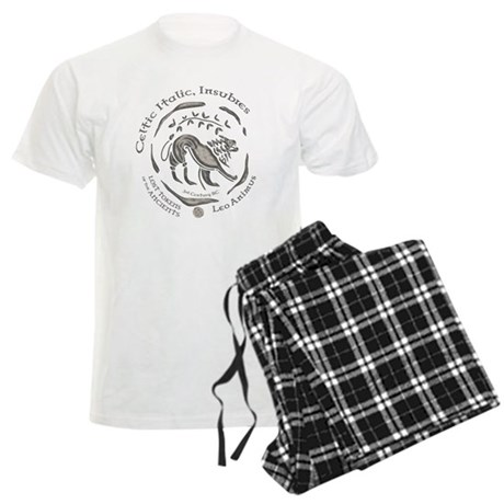 Celtic Lion Coin Men's Light Pajamas