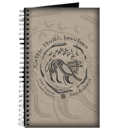 Celtic Lion Coin Journal