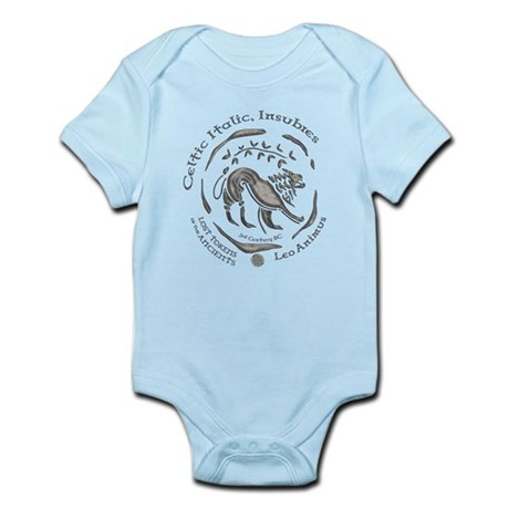 Celtic Lion Coin Infant Bodysuit