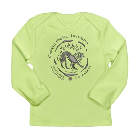 Celtic Lion Coin Long Sleeve Infant T-Shirt