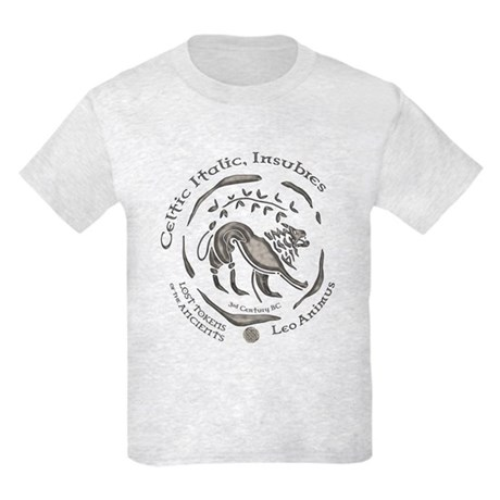 Celtic Lion Coin Kids Light T-Shirt