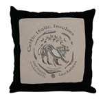 Celtic Lion Coin Throw Pillow