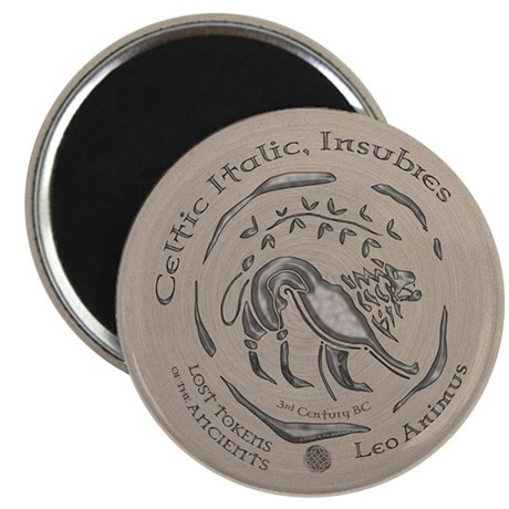 "Celtic Lion Coin 2.25"" Magnet (10 pack)"
