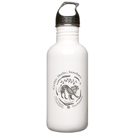 Celtic Lion Coin Stainless Water Bottle 1.0L