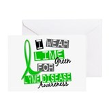 I Wear Lime 37 Lyme Disease Greeting Card