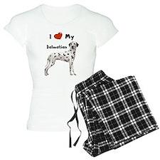 I Love My Dalmatian Pajamas