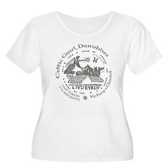 Celtic Victory Chariot Coin Women's Plus Size Scoo