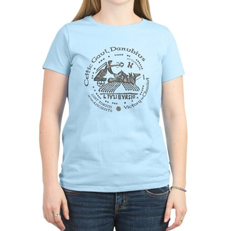 Celtic Victory Chariot Coin Women's Light T-Shirt