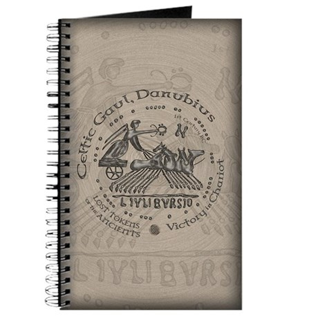 Celtic Victory Chariot Coin Journal