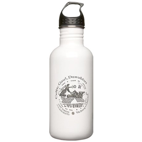 Celtic Victory Chariot Coin Stainless Water Bottle