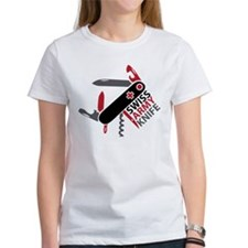 Swiss Knife Design Tee