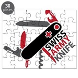 Swiss Knife Design Puzzle