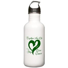 Personalize Stop Liver Cancer Water Bottle