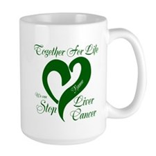 Personalize Stop Liver Cancer Mug