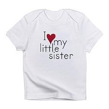 Funny Little sister Infant T-Shirt